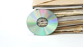 traditional archive and modern cd archive